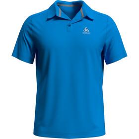 Odlo F-Dry Kurzarm Poloshirt Herren blue aster